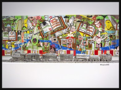 Jeff Koons, Jim Beam – J.B. Turner Train